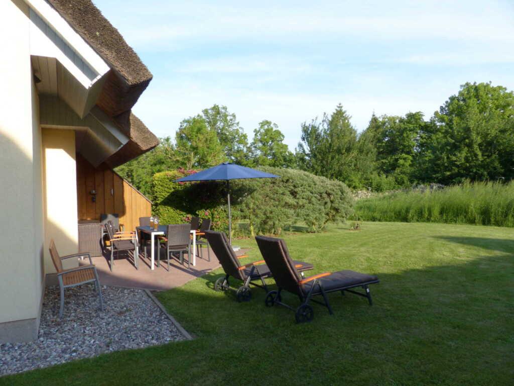 Behagliches Reetdachhaus Eibe 1: Sauna, Kamin, 8 P
