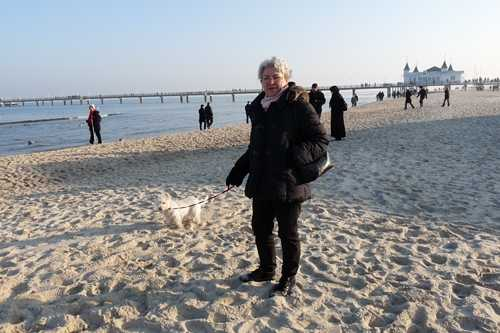 unendlicher weiter sauberer Strand