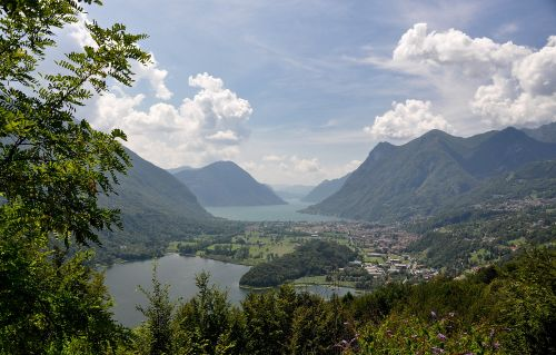 Sch�ne Umgebung Lugano