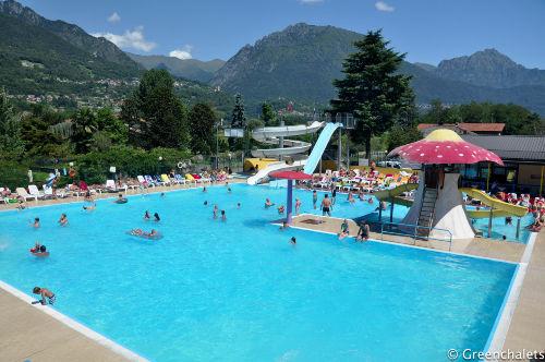 Pool vom Campingplatz