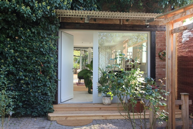 greenhouse zentral im grünen, Ferienwohnung