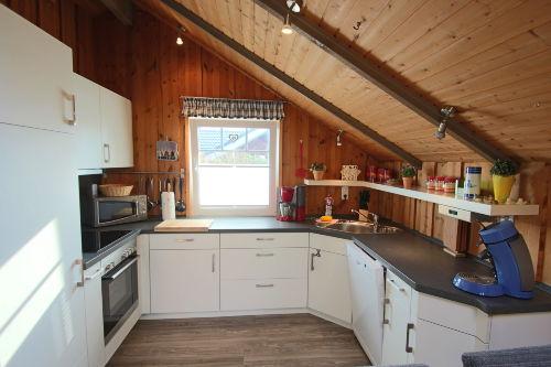 Küche mit Putt und Pann
