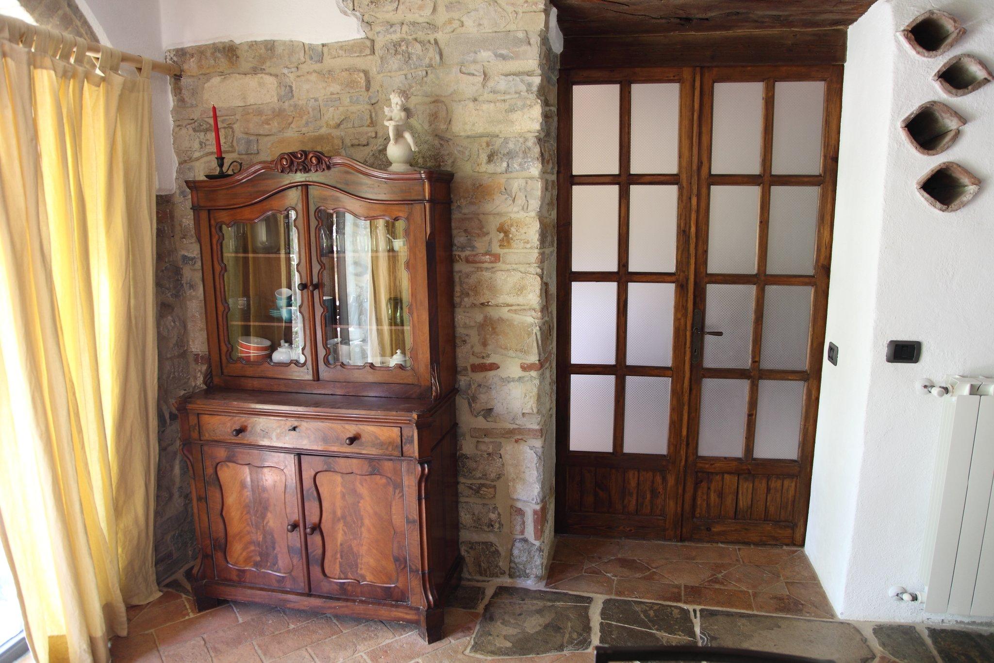 Wohnküche mit Durchgang zum Schlafzimmerr