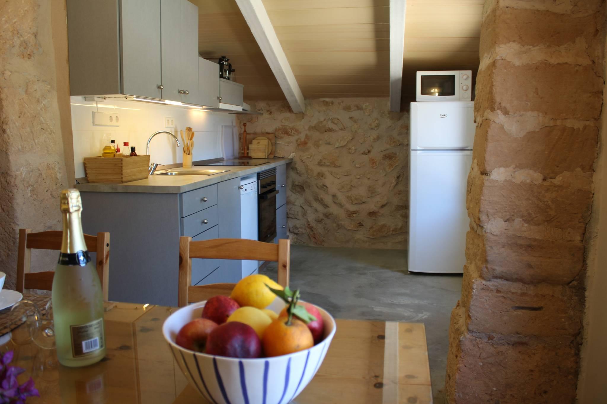 Casita s'Estolet Küche