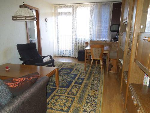 Wohnzimmer (Blick von der Diele)