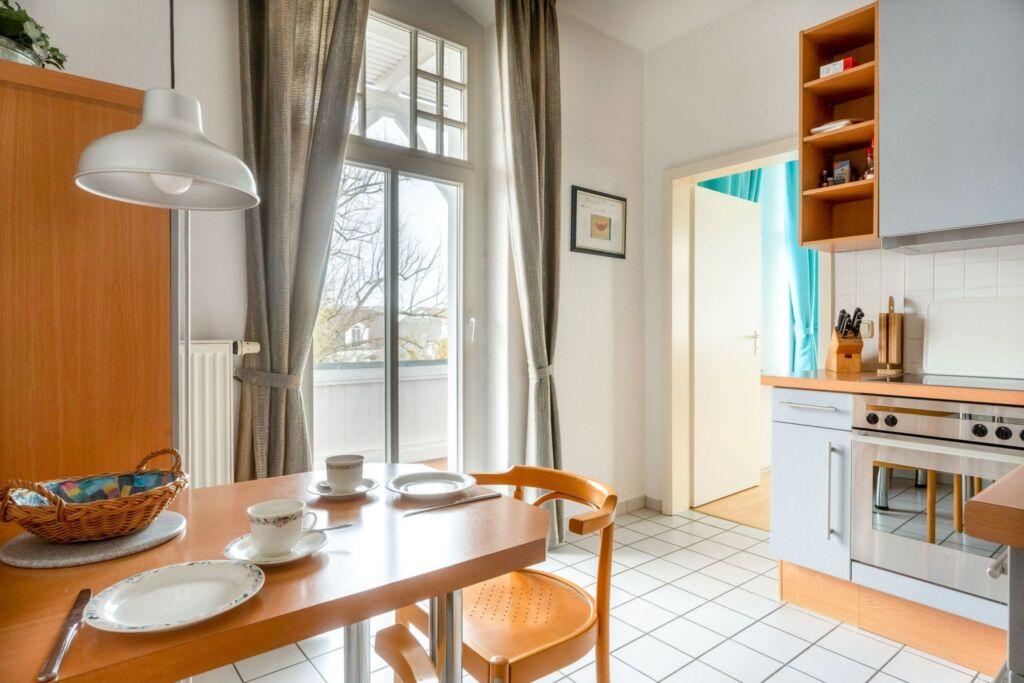 Haus Metropol, 2 - Raum - Apartment mit Balkon