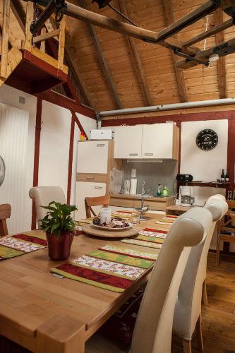 Küche mit Essbereich Wohnung 1