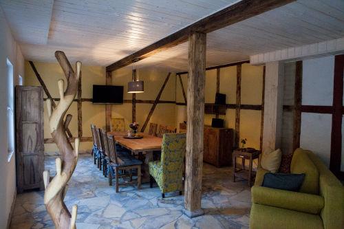 Wohn- und Essbereich Wohnung 1