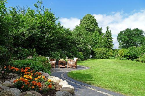 Liebevoll gepflegter Garten
