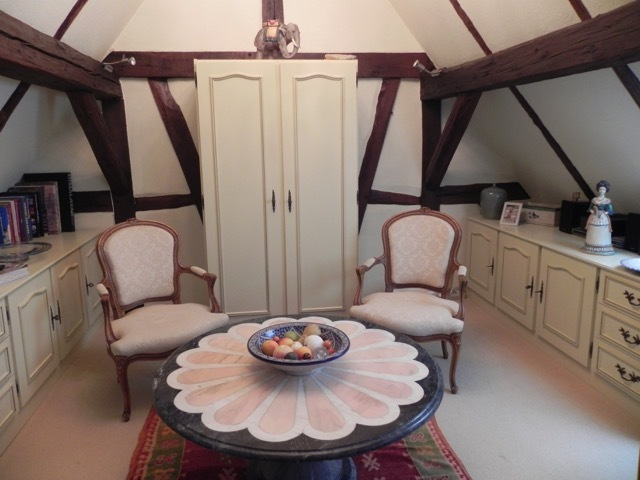 frei stehendes G�stehaus aus 1723, Ferienhaus Ele