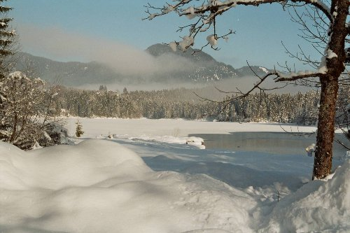 Wintertag am Hintersee