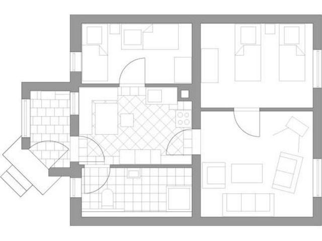 FEWO Miekenhagen F 253, 3-Raum-Ferienwohnung 2-4 P