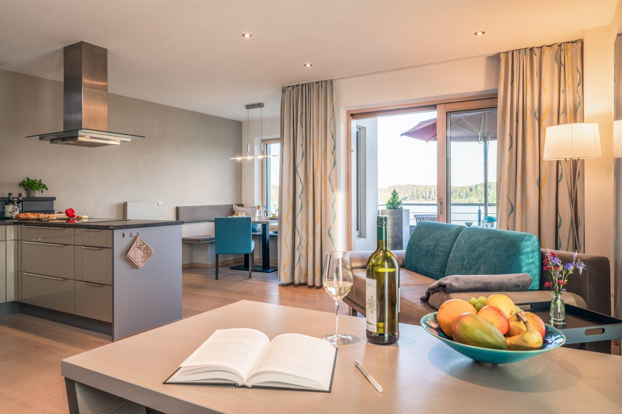 Zusatzbild Nr. 02 von Ferienhaus 'Lebensart-am-See' - Appartement 'Relaxx'