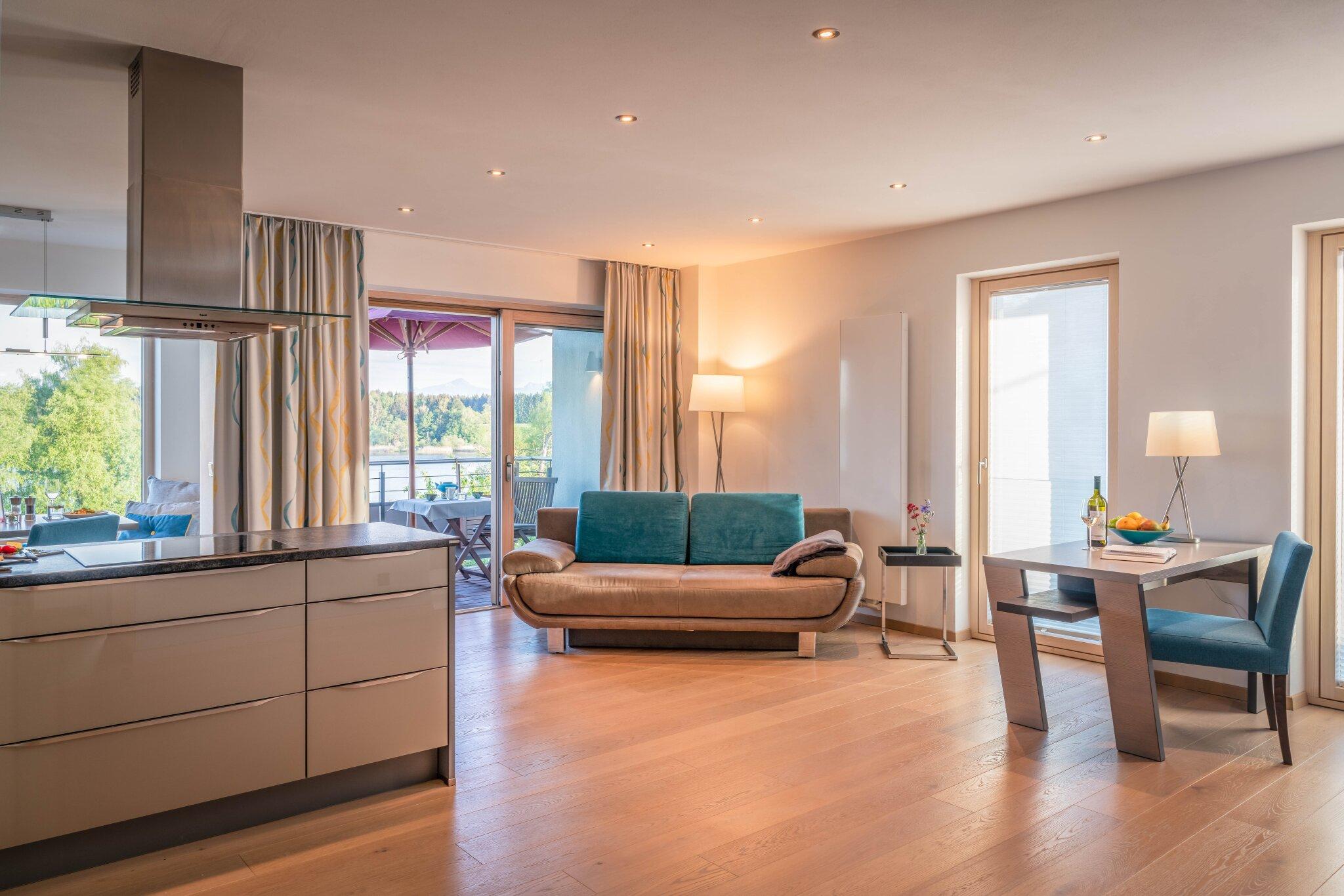 Zusatzbild Nr. 03 von Ferienhaus 'Lebensart-am-See' - Appartement 'Relaxx'