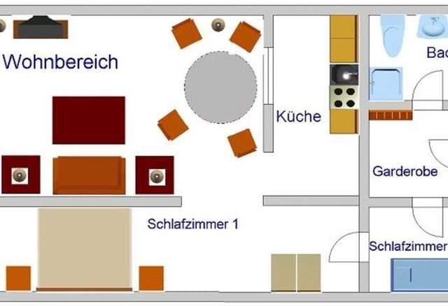 Ferienwohnung Bach-Suite