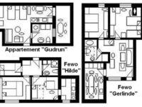 Haus 'U' für 1-15 Personen, alle Appartements im Haus 'U' in Usingen - kleines Detailbild