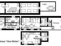 Haus 'O', f�r 1 - 16 Personen, 23km bis Frankfurt - Nord, alle Appartements im Haus 'O' in Ober�M�rlen - kleines Detailbild