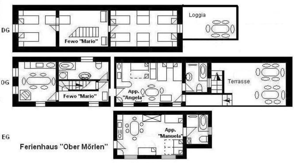 Haus 'O', für 10 - 16 Personen, 23km bis Frankfurt