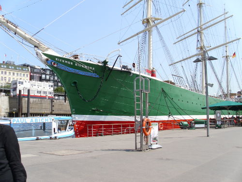 Museumsschiff in Hamburg