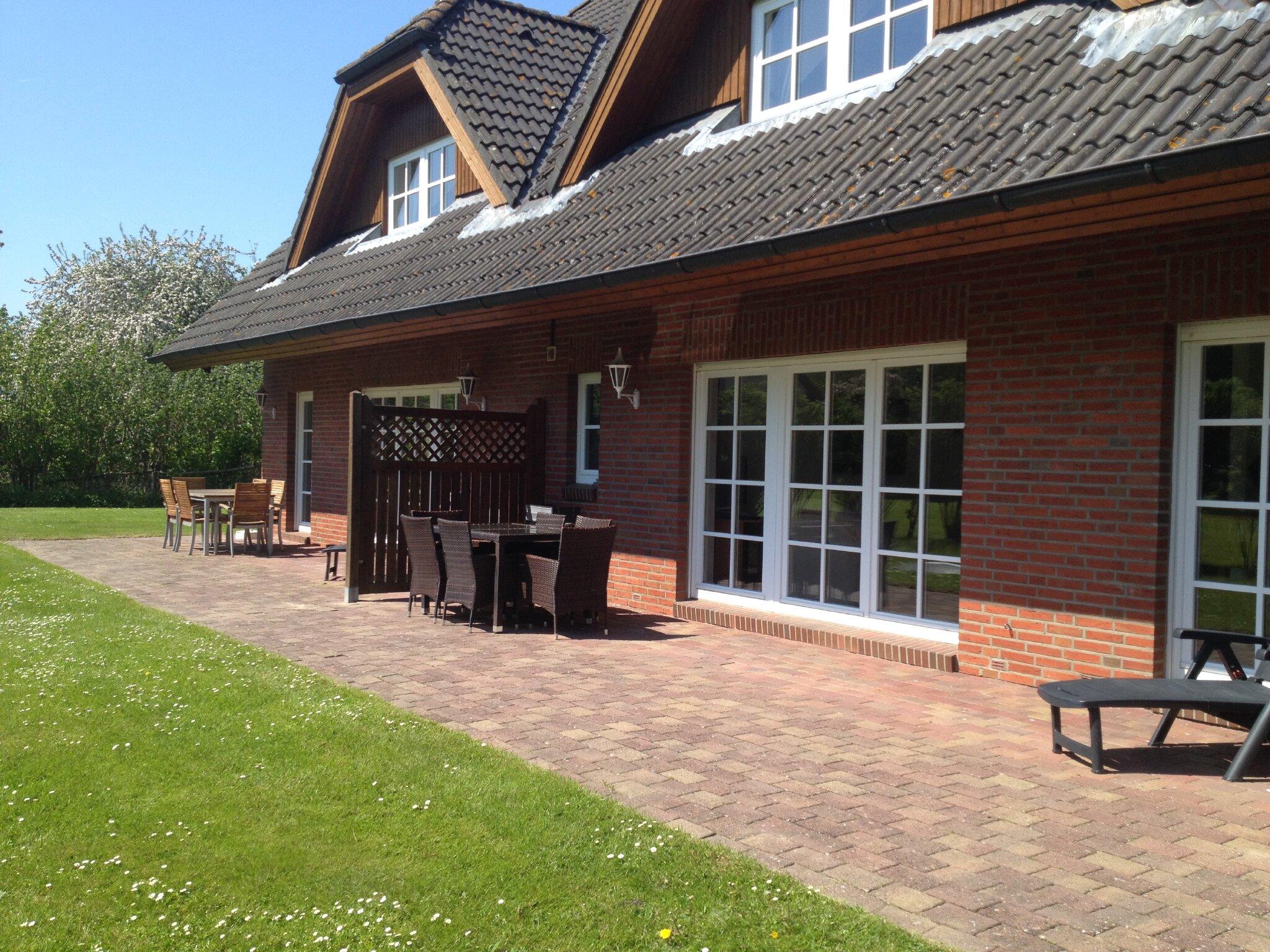 Terrasse für Wohnung-4 Obergeschoss