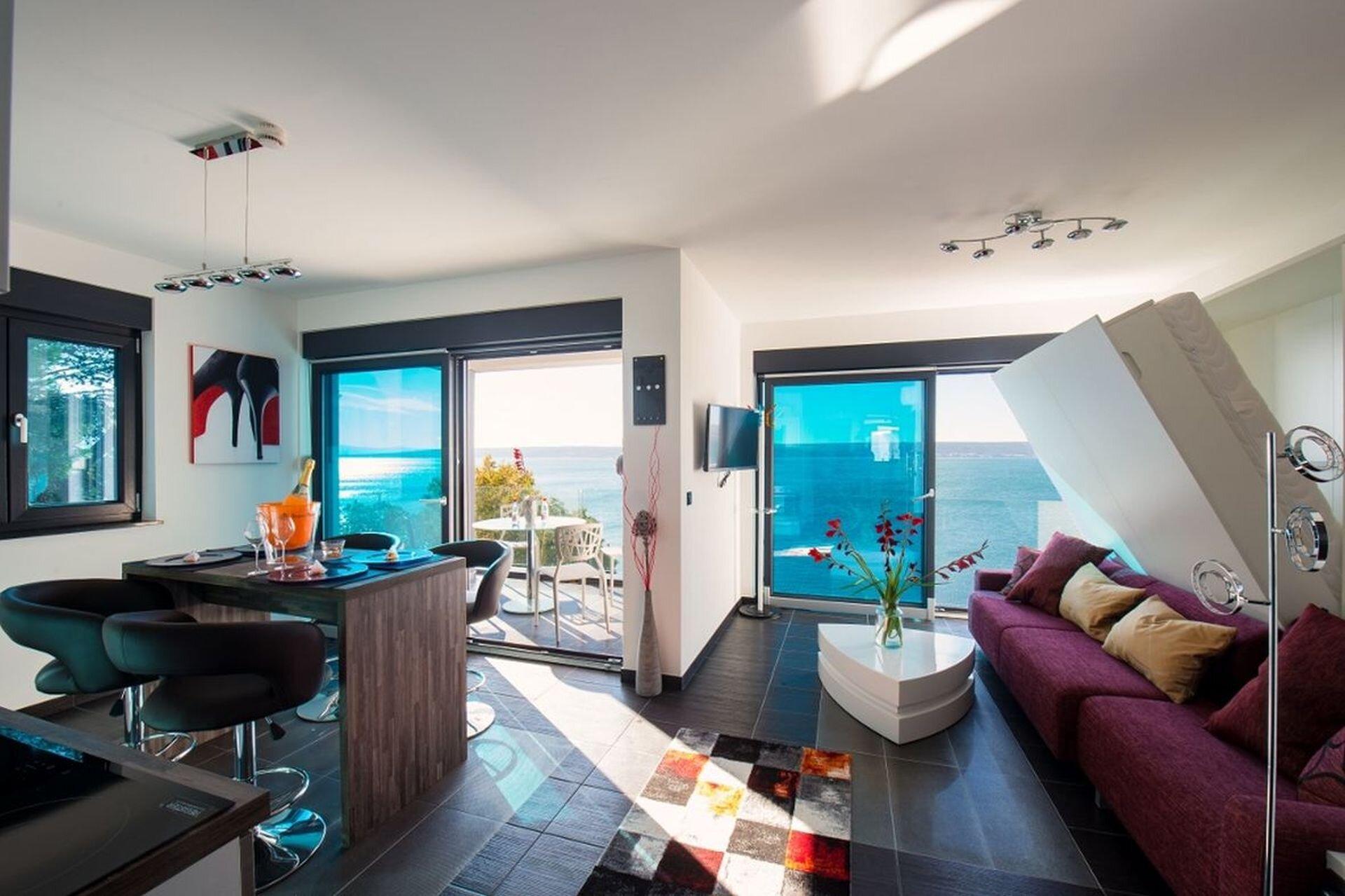 Wohnschlafzimmer mit Ladenstein Möbel