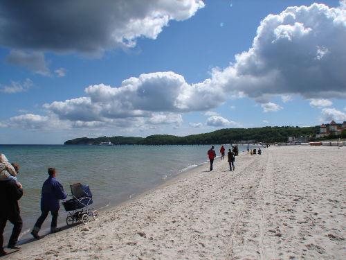 Ein Spaziergang am Strand ....