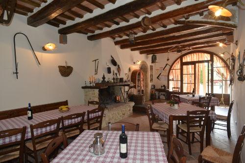 Kleines Restaurant auf Saletta