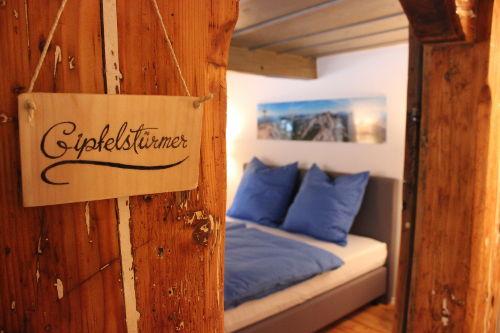 Schlafzimmer Gipfelstürmer im OG
