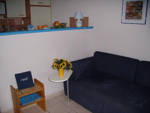 Wohnraum mit K�che