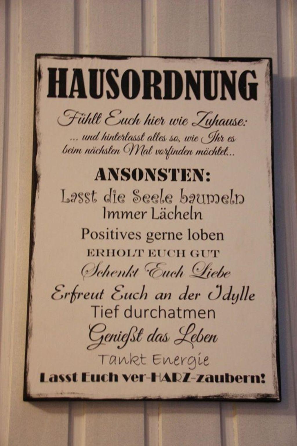 Ferienhaus 'HarzZauber'