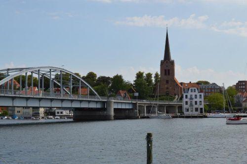 Hafen in Sønderborg/DK