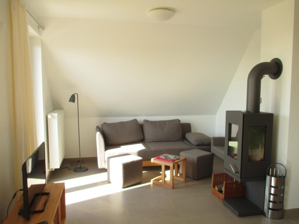 Rügen-Ferienhof, Ferienwohnung Obergeschoss mit Ba