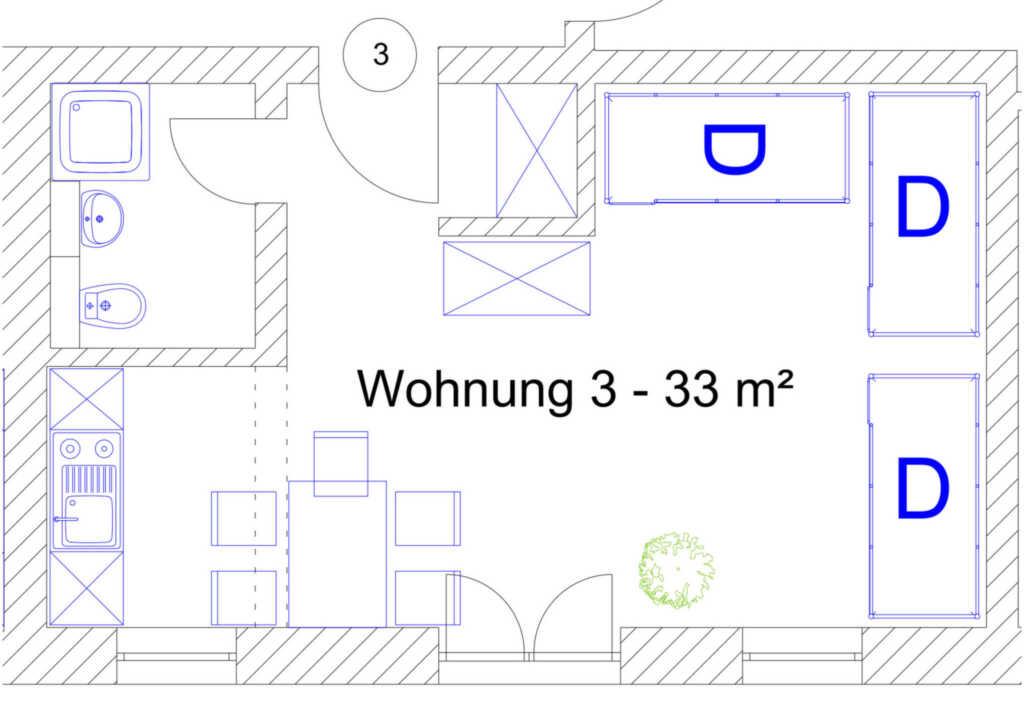 Ostsee Ferienidyll'Gut Lancken', Wohnung 03