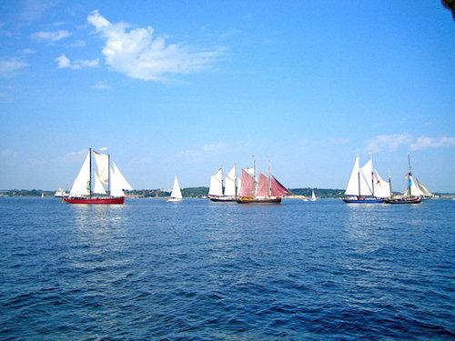 OSTSEE mit Segelschiffen (Kieler Woche)