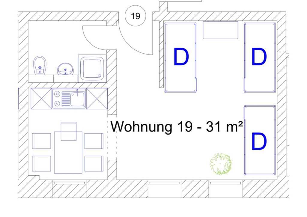 Ostsee Ferienidyll'Gut Lancken', Wohnung 19