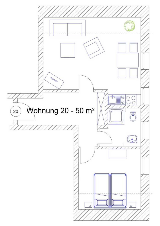 Ostsee Ferienidyll'Gut Lancken', Wohnung 20