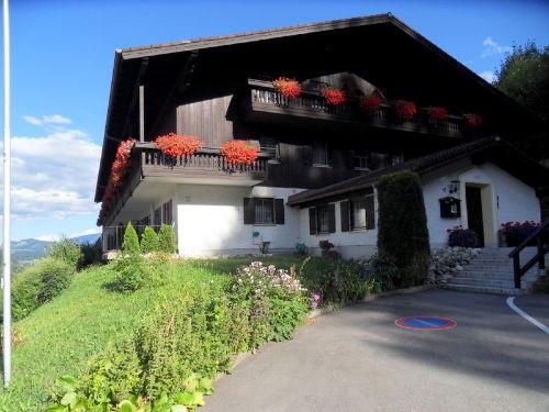 Bergschlössl Westansicht-Hauseingang