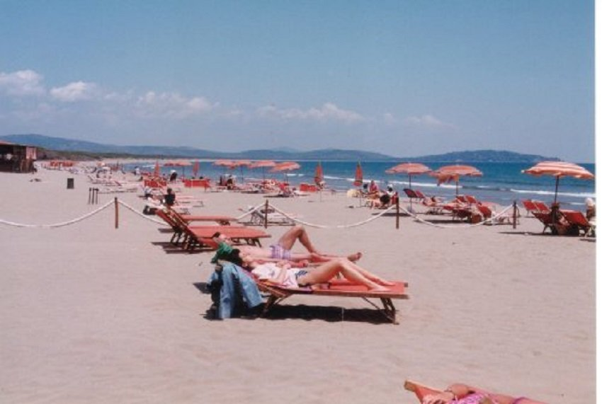 Strand bei Feniglia (Mt.Argentario)
