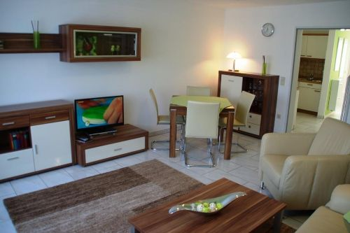 Das Wohn- Eßzimmer