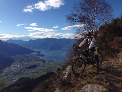 Mountainbiken am Comersee