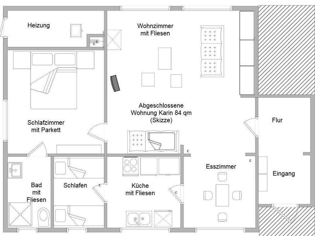 Ferienwohnungen Finnisches Blockhaus, Ferienwohnun