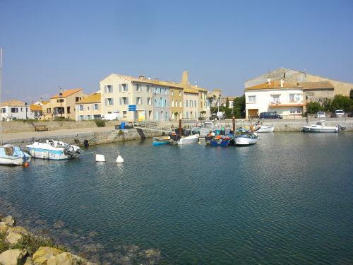 Blick v. alten Hafen auf's Haus (5 v.li