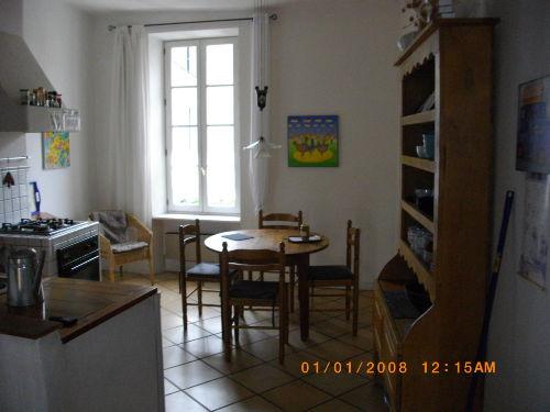 K�che und Wohnzimmer