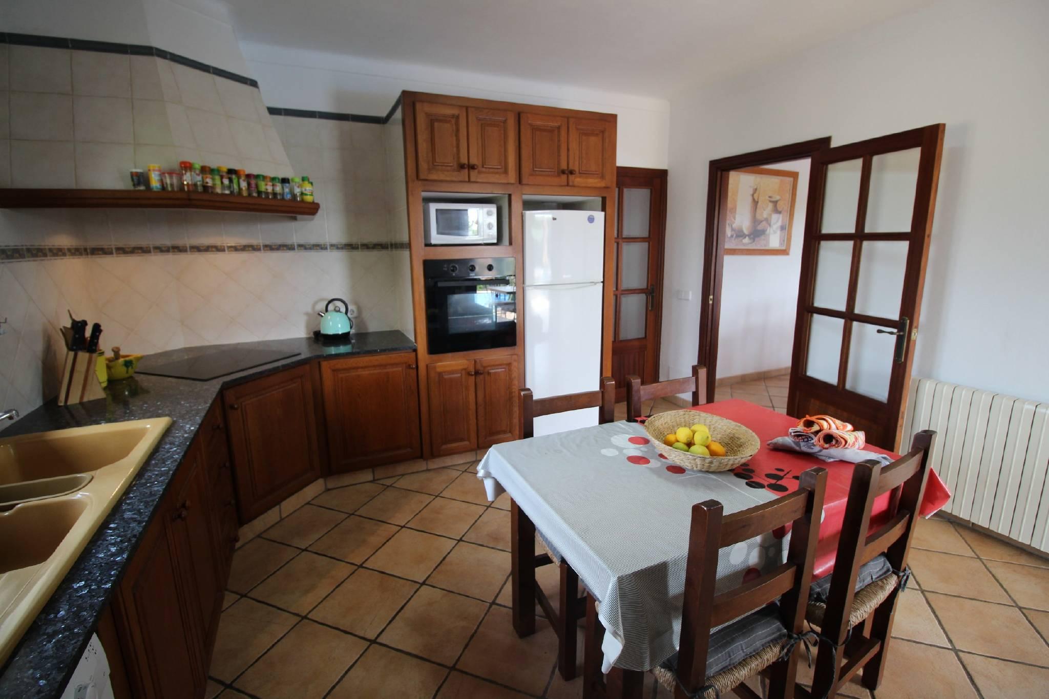 Finca Sa Bassa Seca   Küche