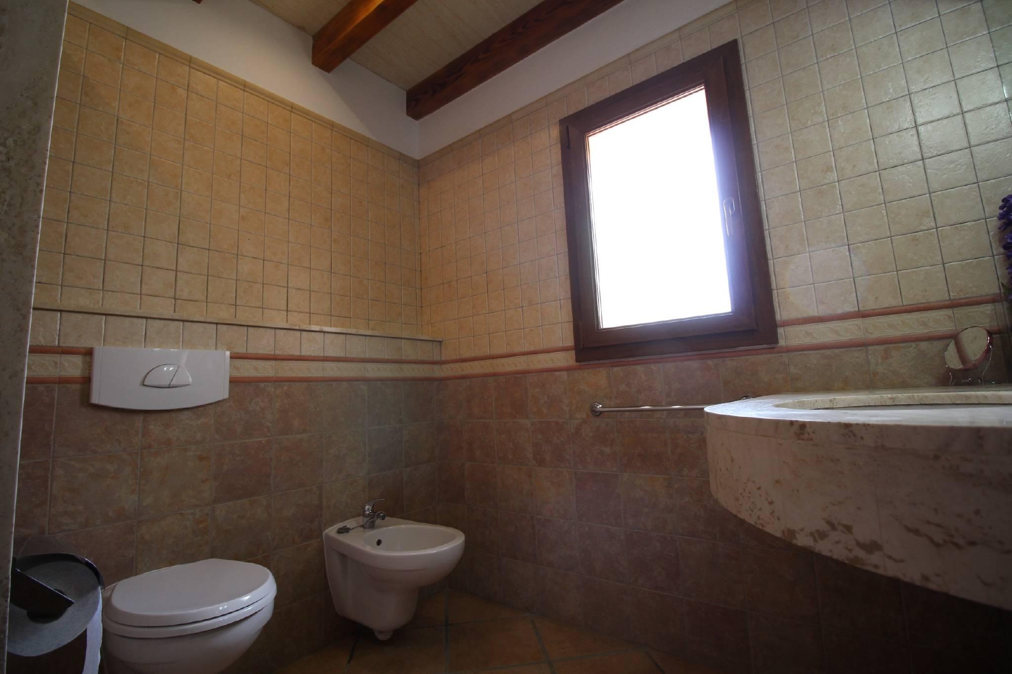 Finca Sa Bassa Seca   Badezimmer unten