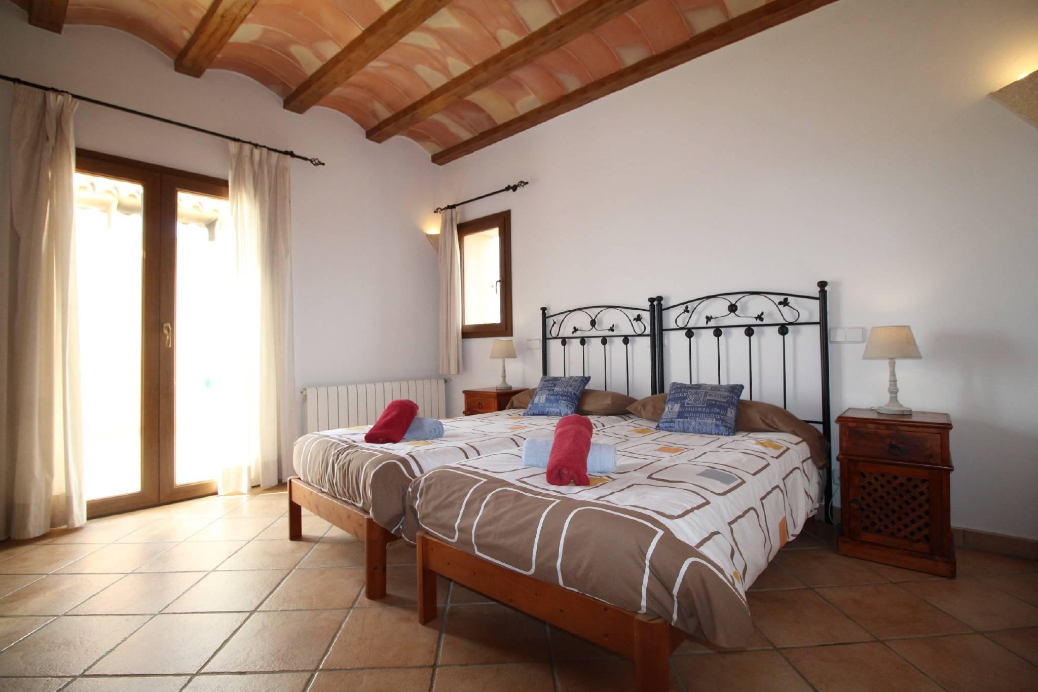 Finca Sa Bassa Seca   Schlafzimmer oben
