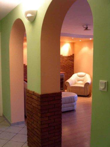 Wohnzimmer, Foto aus Diele