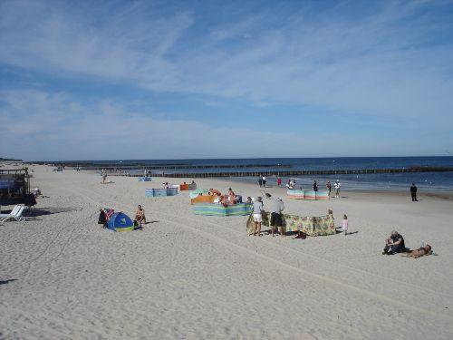 Der Strand in Dzwirzyno