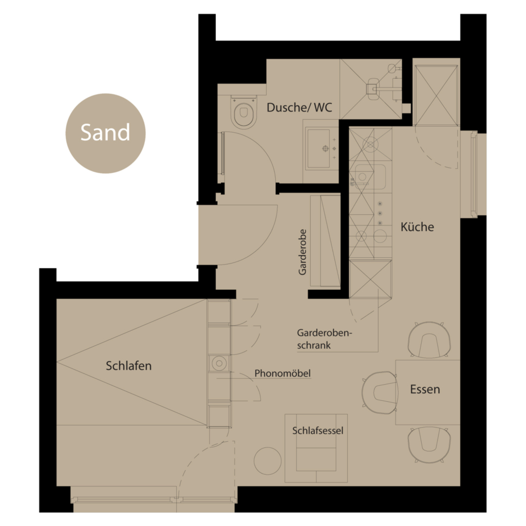 Haus LIV, Appartment Sand