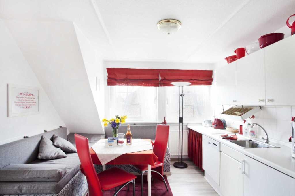 Gästehaus Rüm Hart - Detlef Martensen, Wohnung rot
